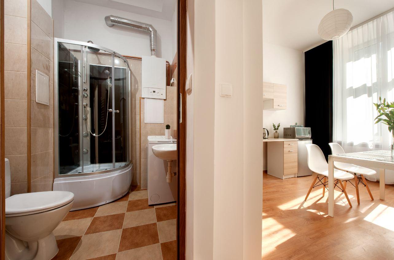 Bathroom at Agnieszki 1 Apartment - Citybase Apartments