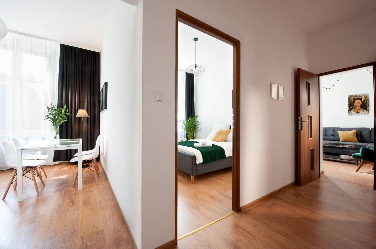 Hallway at Agnieszki 1 Apartment - Citybase Apartments