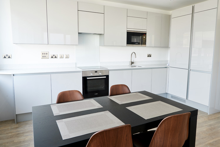 Dining table at Canada Water Apartments - Citybase Apartments