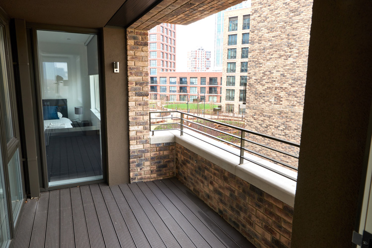 Balcony at Canada Water Apartments - Citybase Apartments