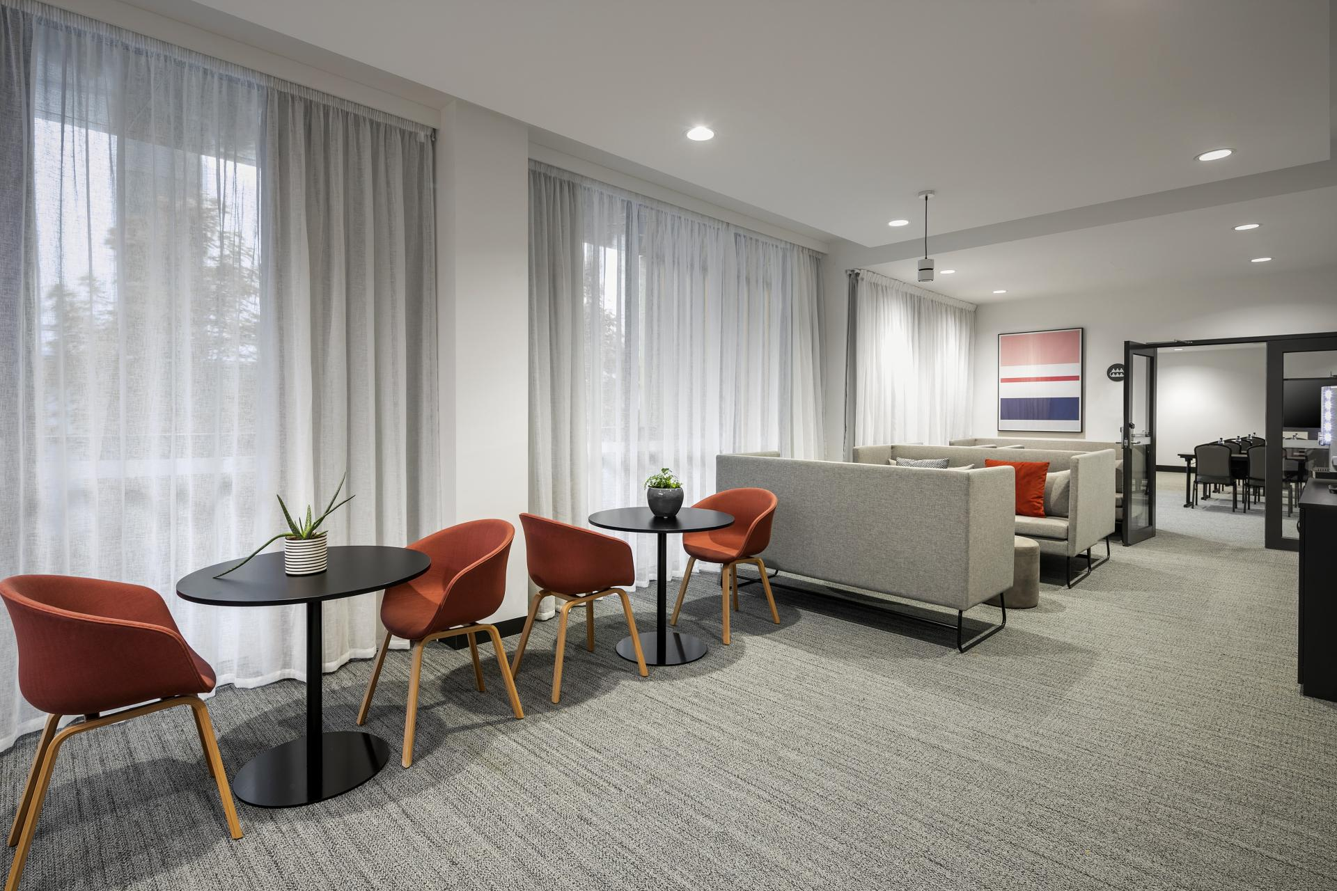 Business lounge at Quest Notting Hill Apartments - Citybase Apartments