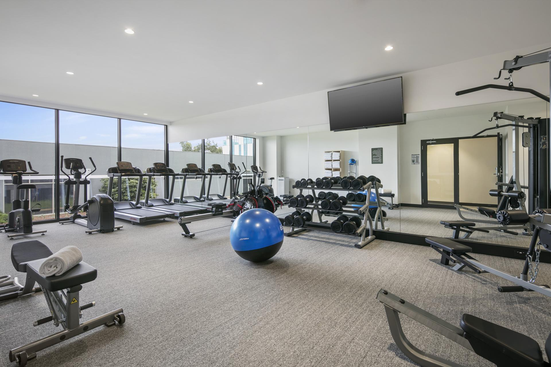 Gym at Quest Notting Hill Apartments - Citybase Apartments