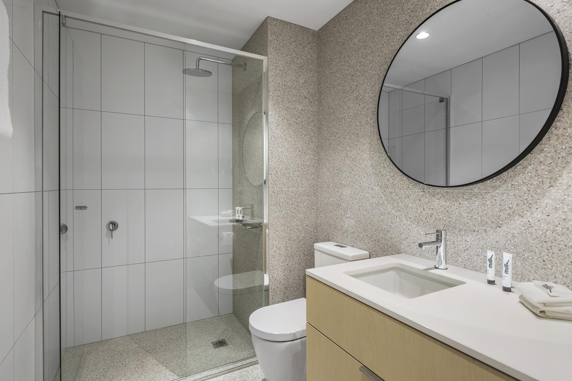 Bathroom at Quest Notting Hill Apartments - Citybase Apartments