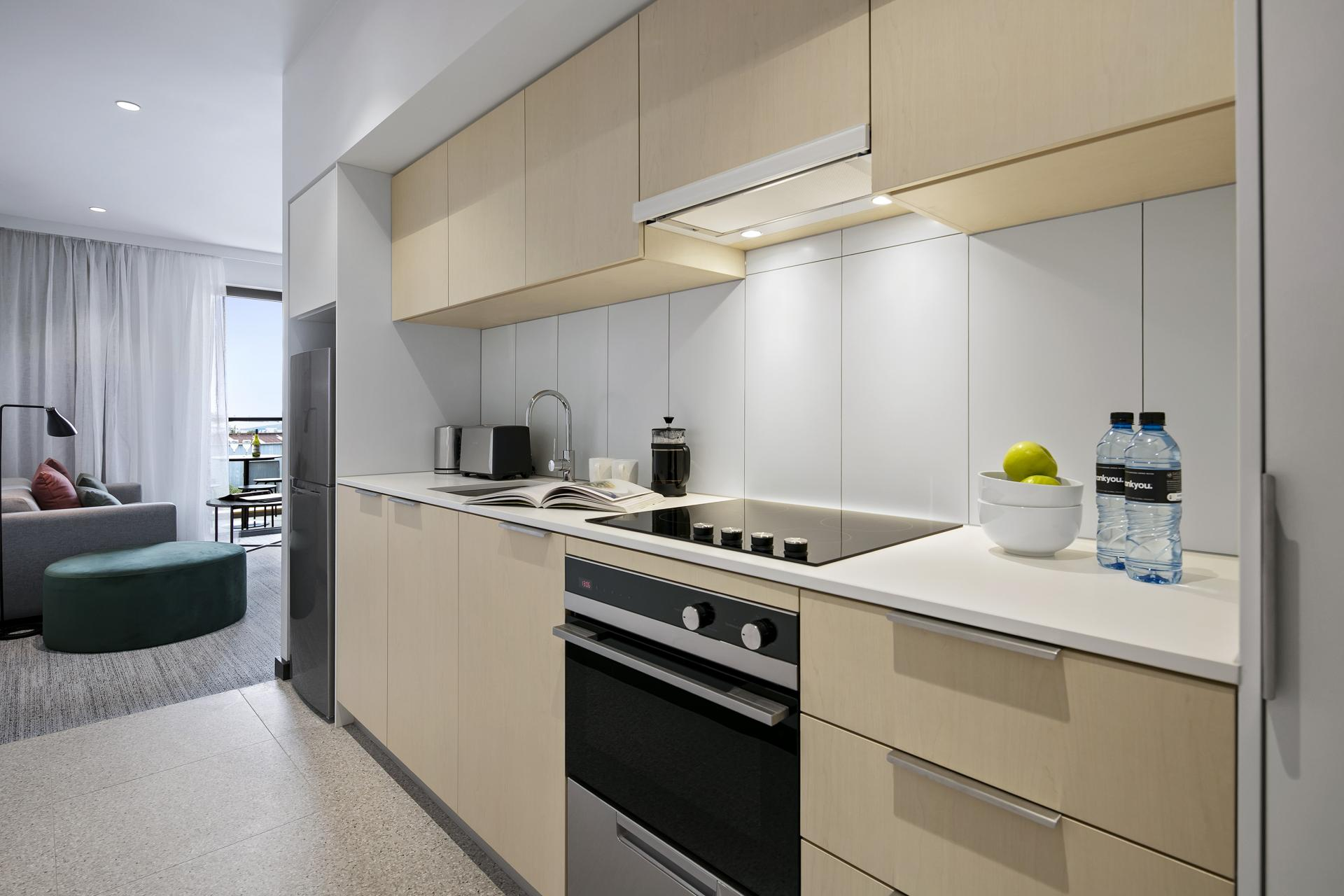 Kitchen at Quest Notting Hill Apartments - Citybase Apartments