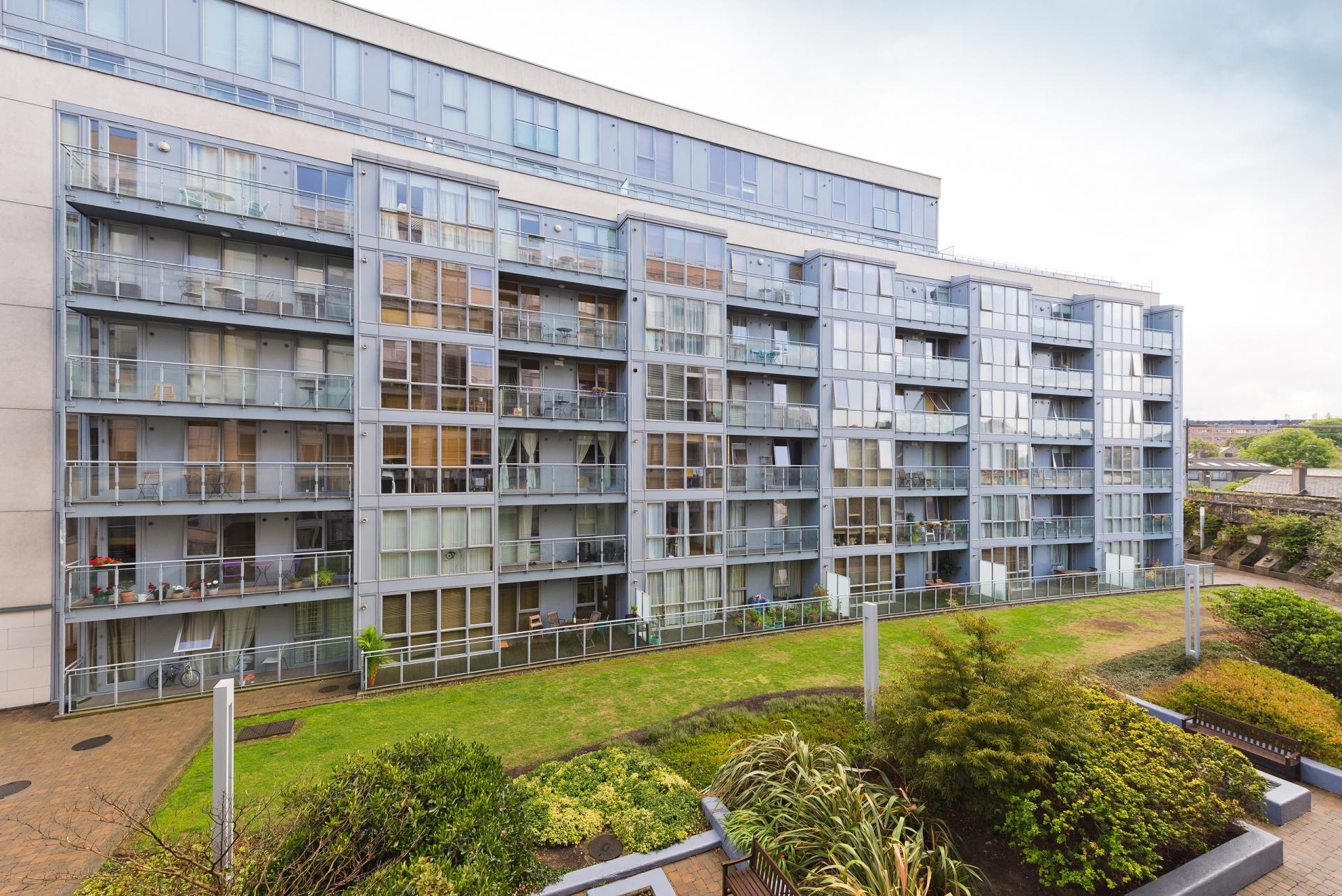 Exterior of The Gasworks Adoor Apartments - Citybase Apartments