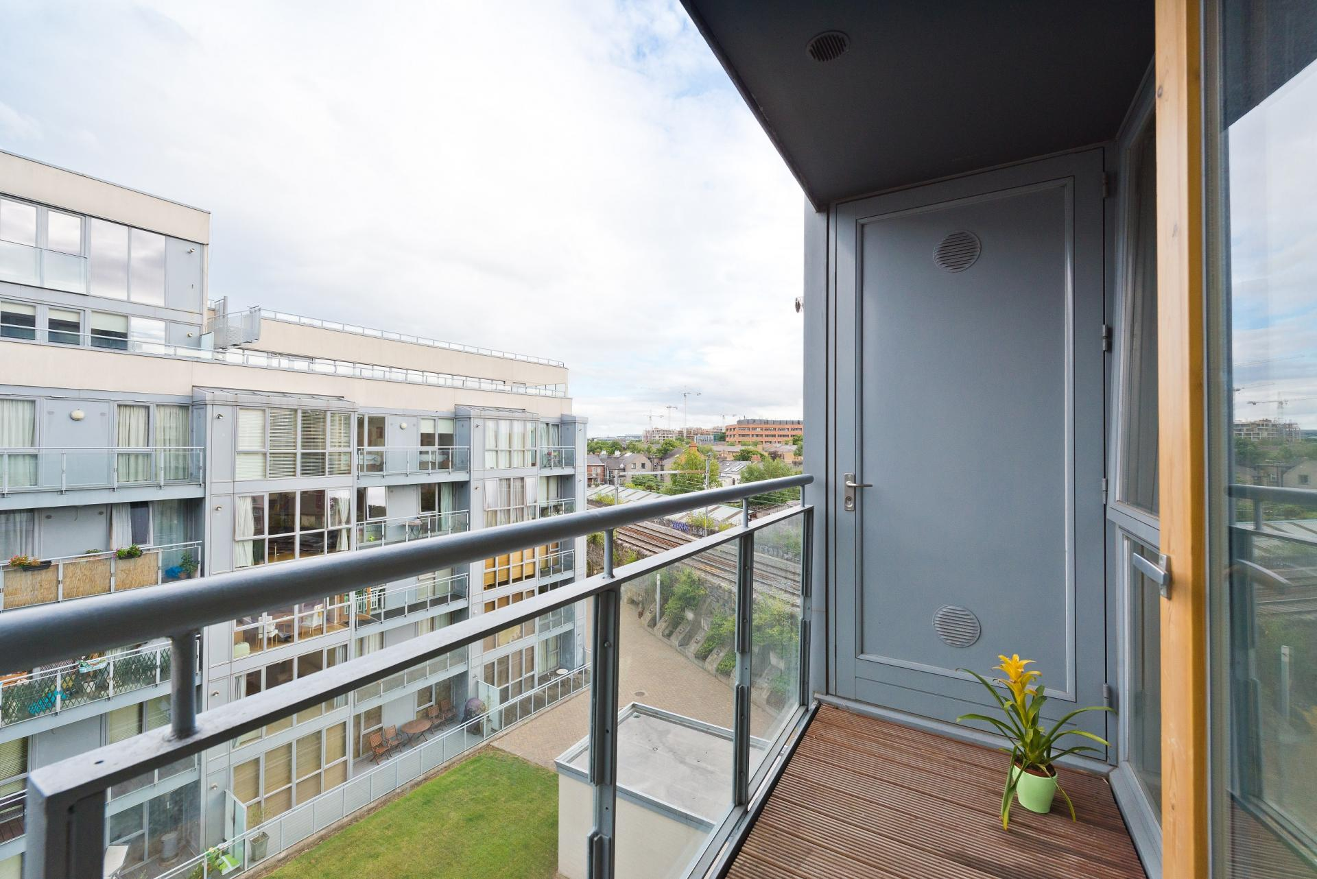Balcony at The Gasworks Adoor Apartments - Citybase Apartments