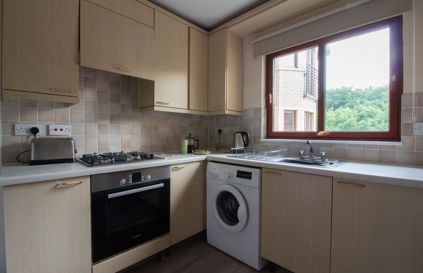 Kitchen at South Groathill Serviced Apartment - Citybase Apartments