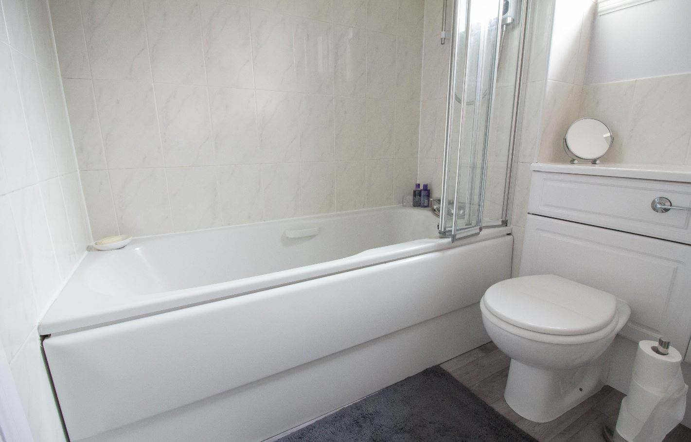 Bath at South Groathill Serviced Apartment - Citybase Apartments