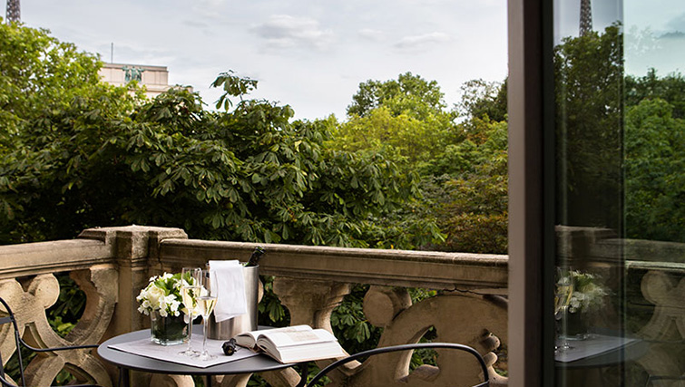Balcony at La Reserve Paris Apartments - Citybase Apartments