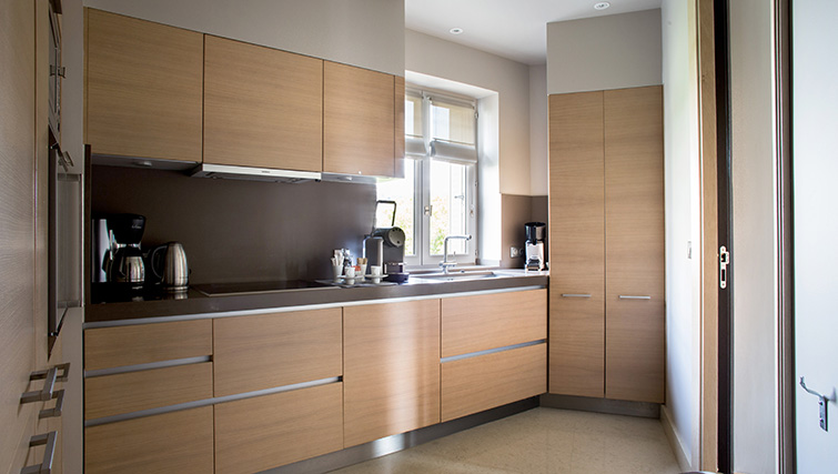 Kitchen at La Reserve Paris Apartments - Citybase Apartments