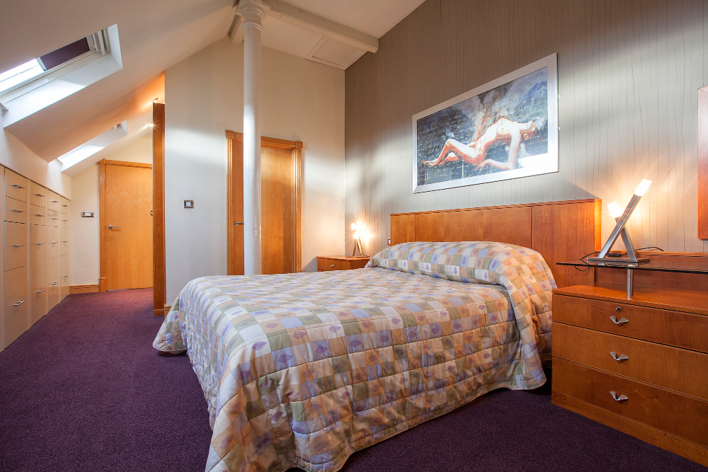Bedroom at Pilcher Gate Serviced Apartments - Citybase Apartments