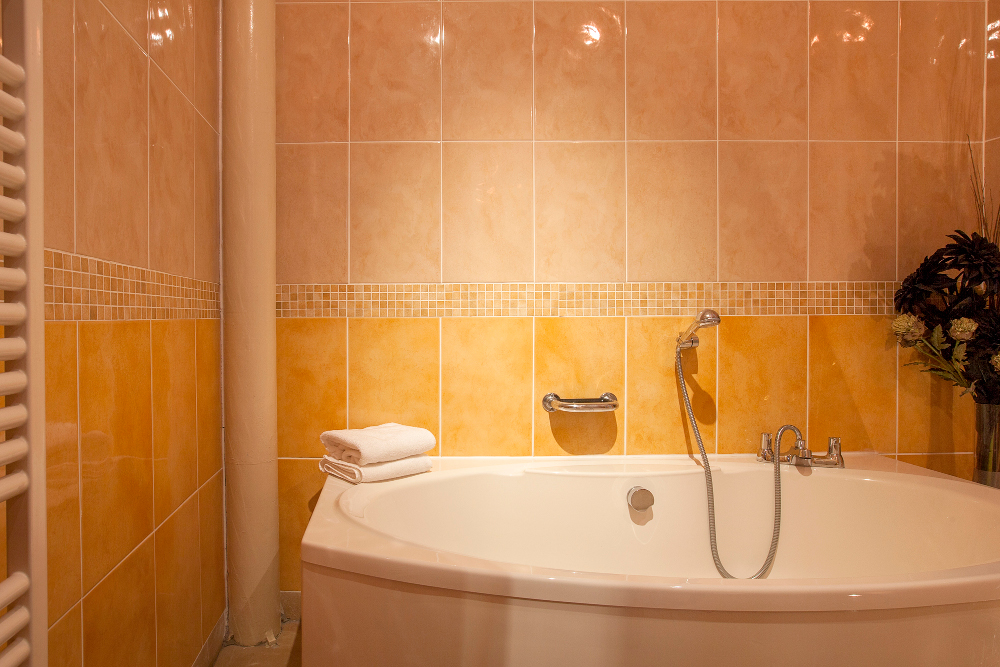 Bathroom at Pilcher Gate Serviced Apartments - Citybase Apartments