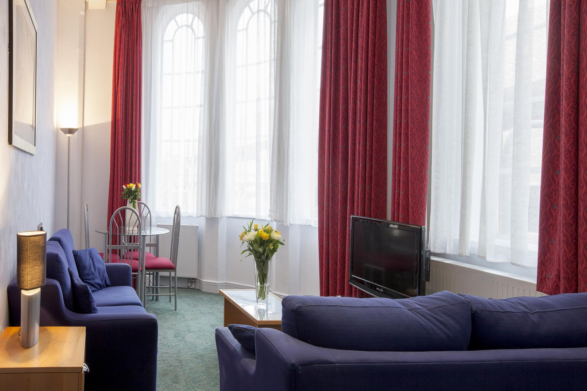 TV at Pilcher Gate Serviced Apartments - Citybase Apartments