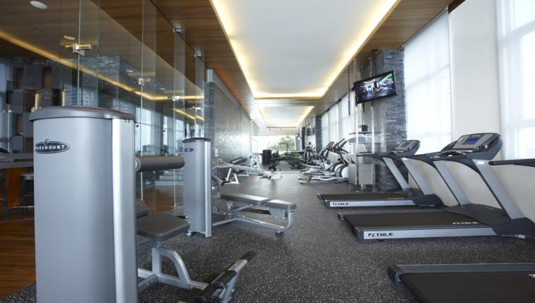 Gym at Somerset Sukhumvit Thonglor Apartments - Citybase Apartments