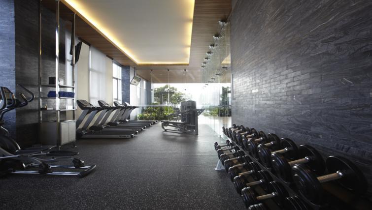 Fitness centre at Somerset Sukhumvit ThonglorApartments - Citybase Apartments