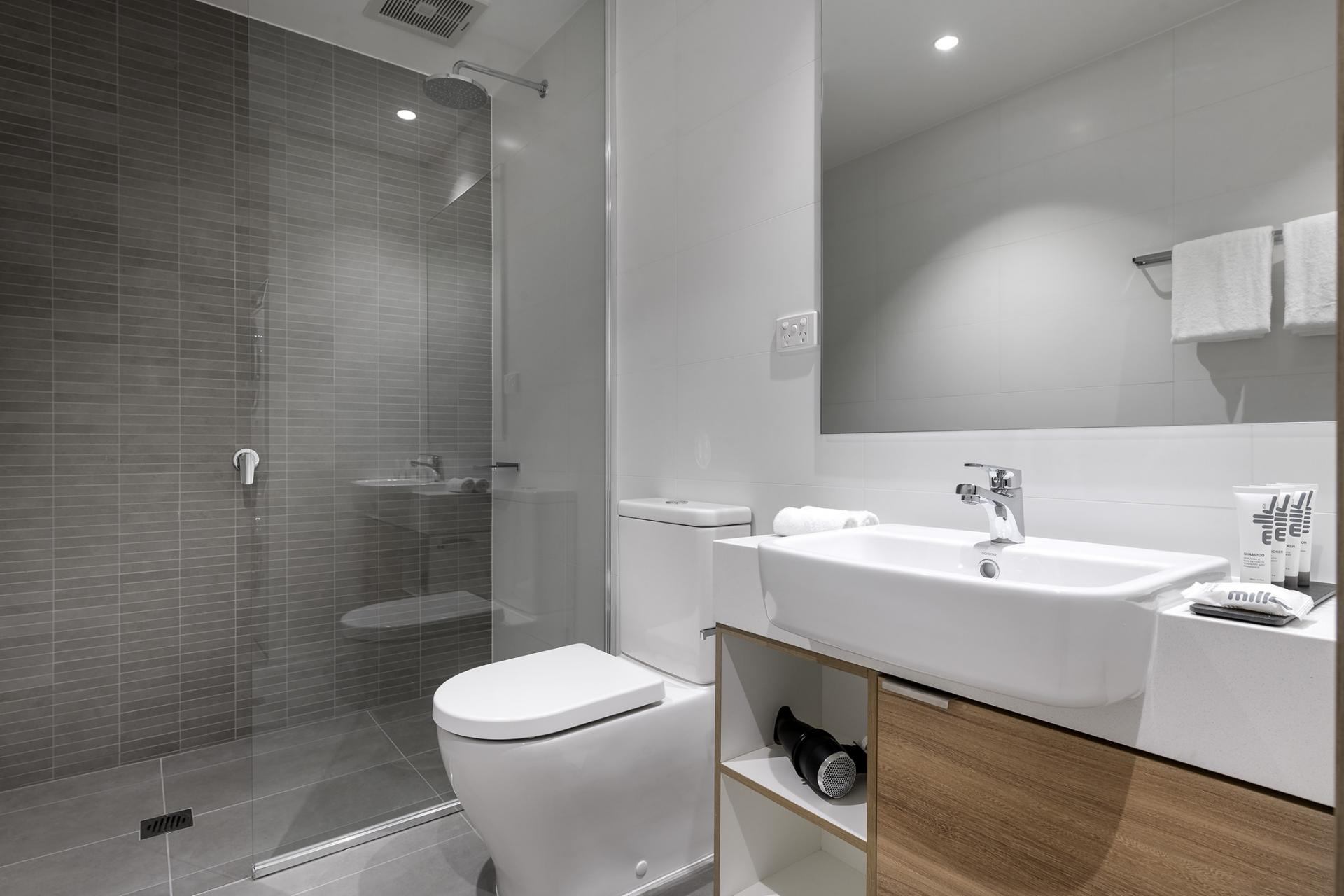 Bathroom at Quest South Perth Foreshore - Citybase Apartments