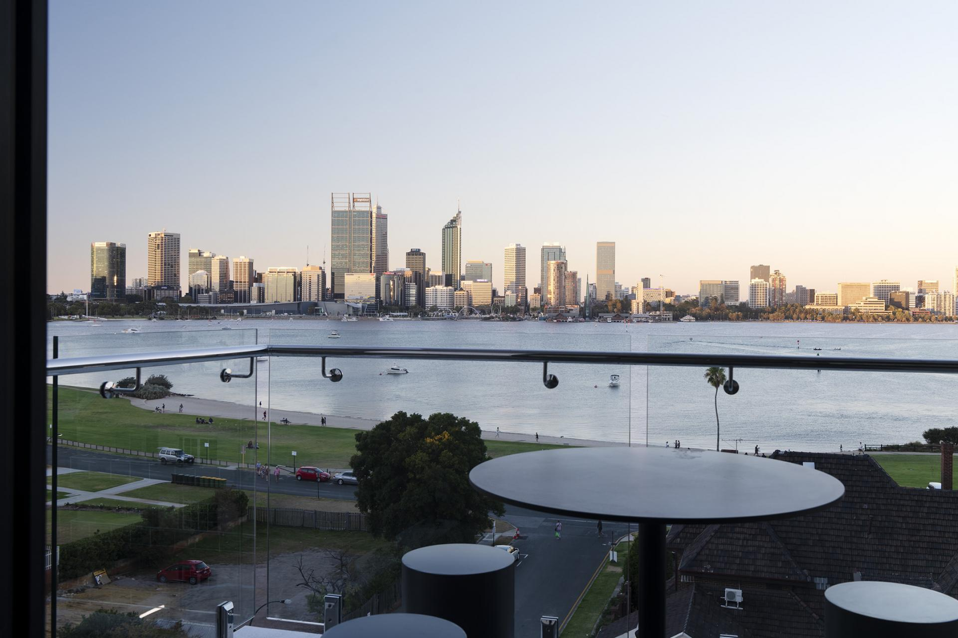 View at Quest South Perth Foreshore - Citybase Apartments