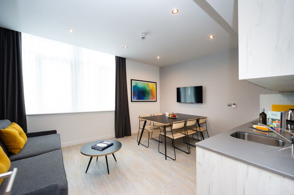 Open-plan at Staycity Aparthotels Paris Marne La Vallee, Centre, Bailly-Romainvilliers - Citybase Apartments