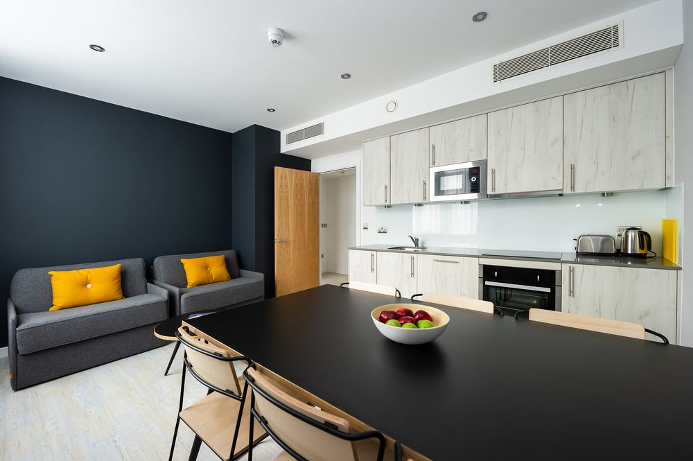 Living space at Staycity Aparthotels Paris Marne La Vallee, Centre, Bailly-Romainvilliers - Citybase Apartments