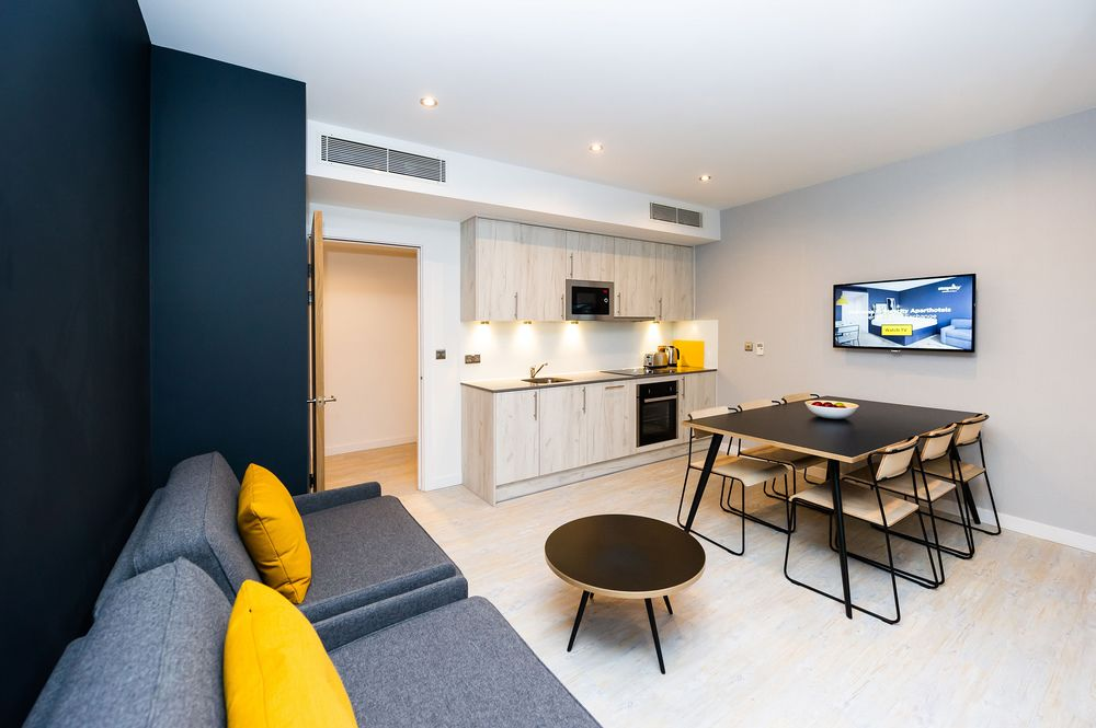 Kitchen diner at Staycity Aparthotels Paris Marne La Vallee, Centre, Bailly-Romainvilliers - Citybase Apartments