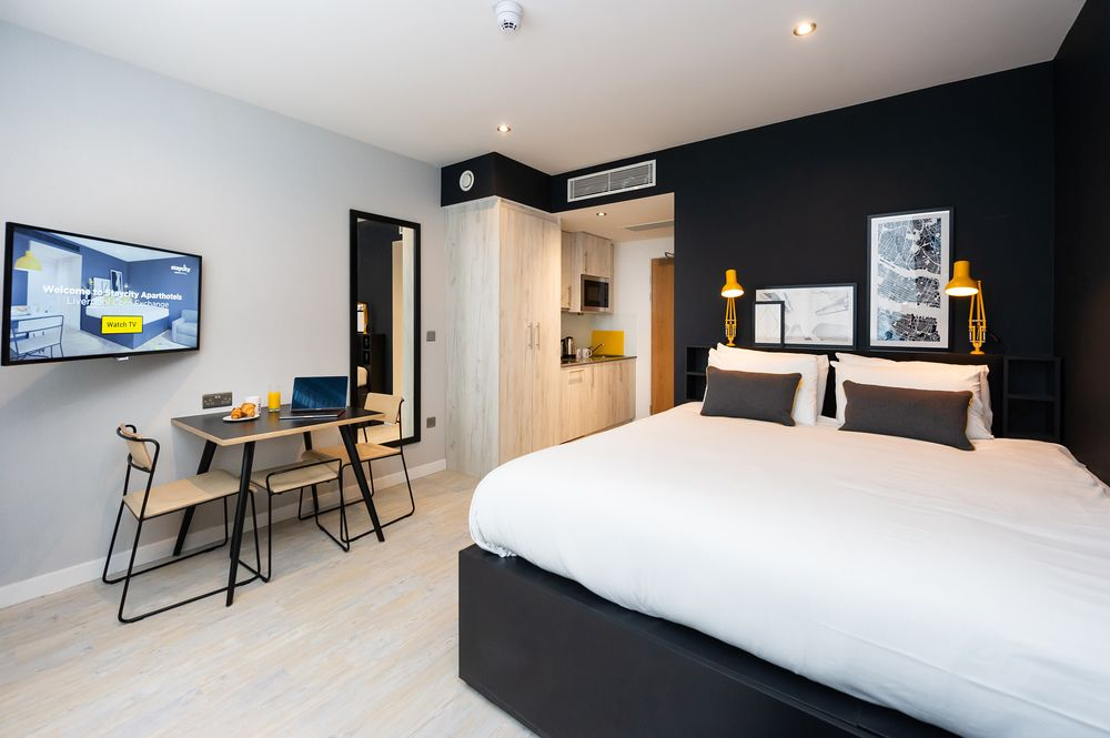 Accessible studio at Staycity Aparthotels Paris Marne La Vallee, Centre, Bailly-Romainvilliers - Citybase Apartments