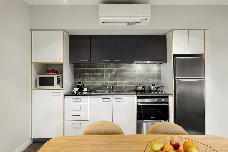 Kitchen at Quest Fremantle - Citybase Apartments