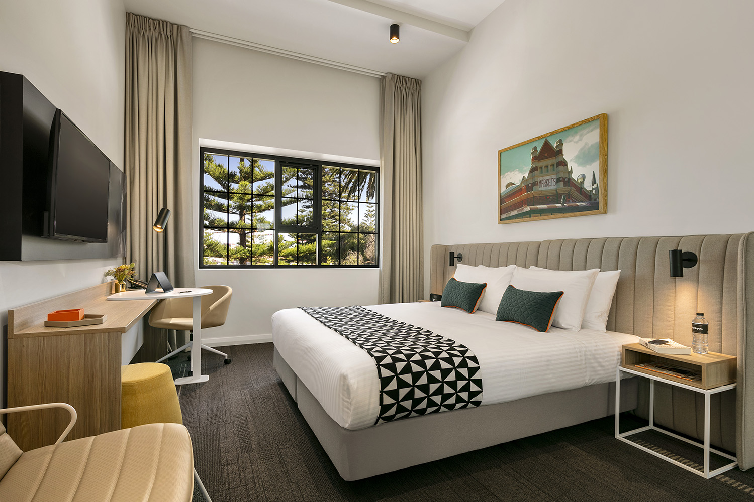 Bedroom at Quest Fremantle - Citybase Apartments