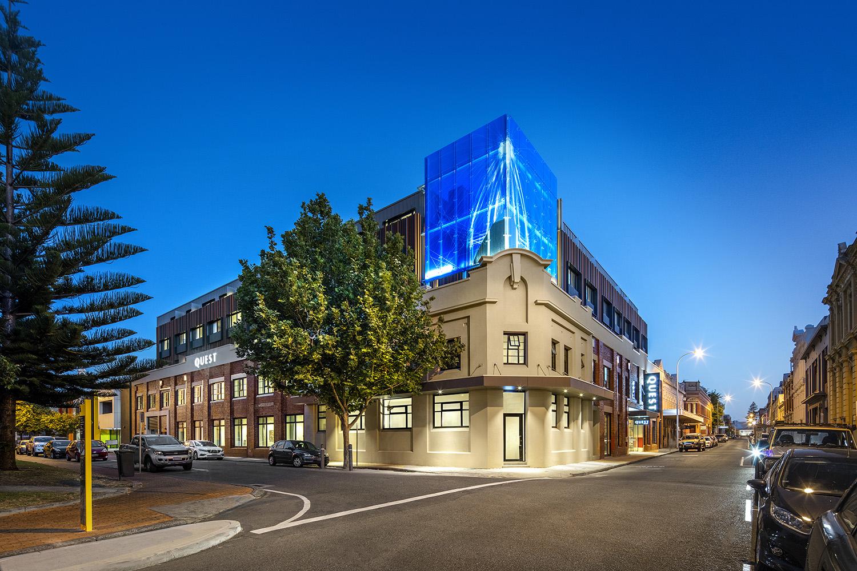 Exterior at Quest Fremantle - Citybase Apartments