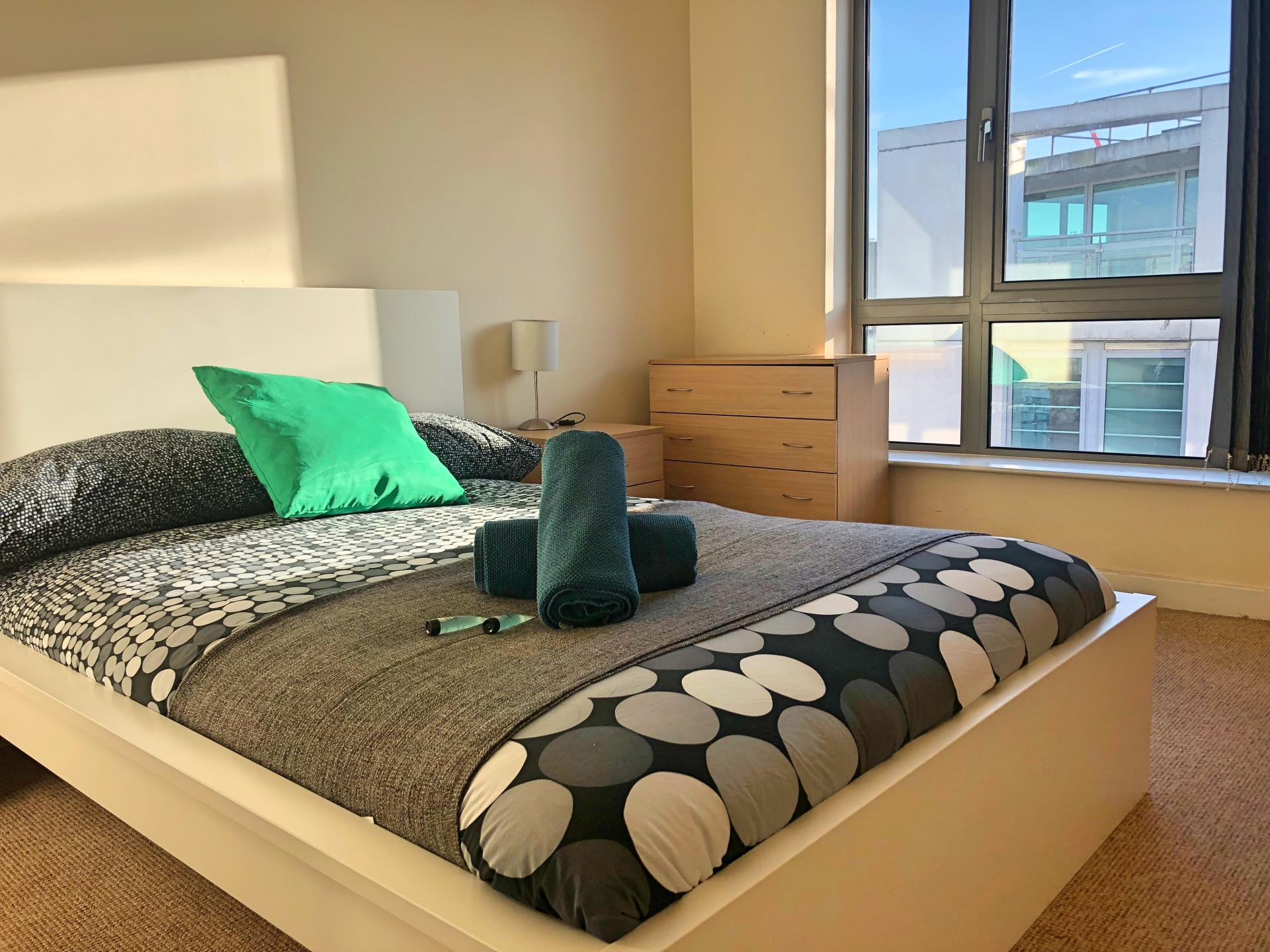 Bedroom at Scotland Street Apartments - Citybase Apartments