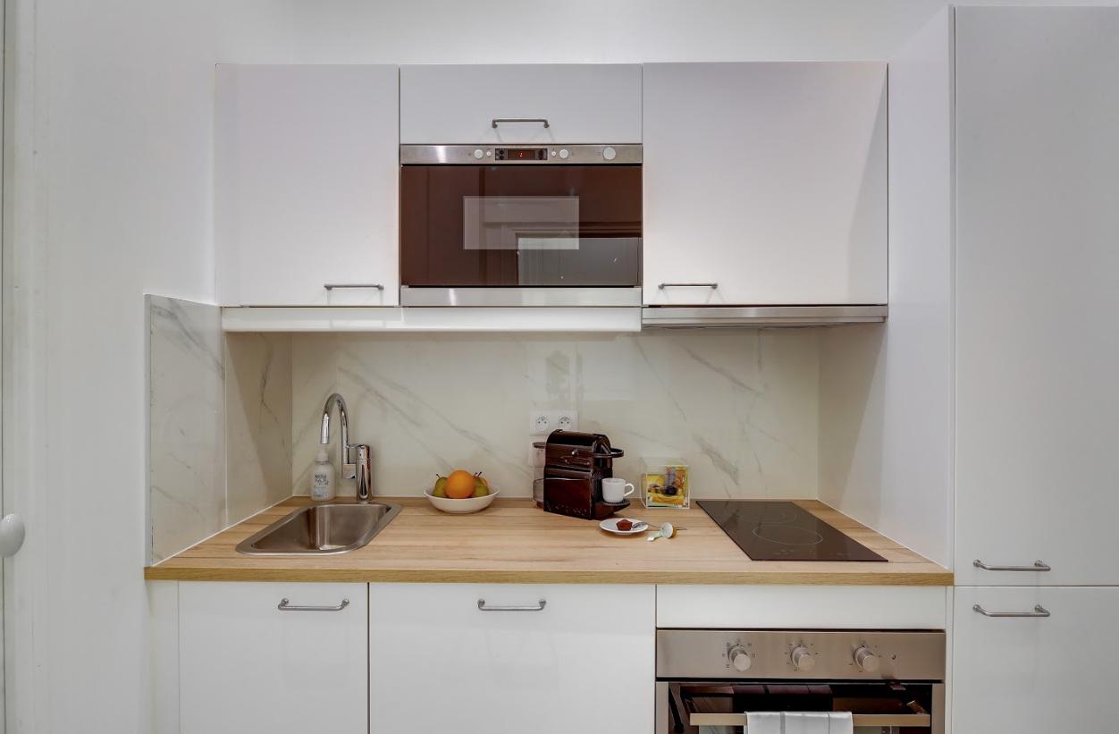 Kitchen at Messine Apartment - Citybase Apartments