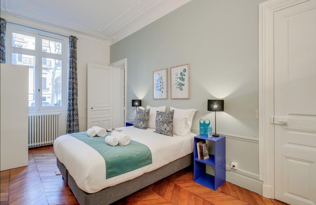 Bedroom at Messine Apartment - Citybase Apartments
