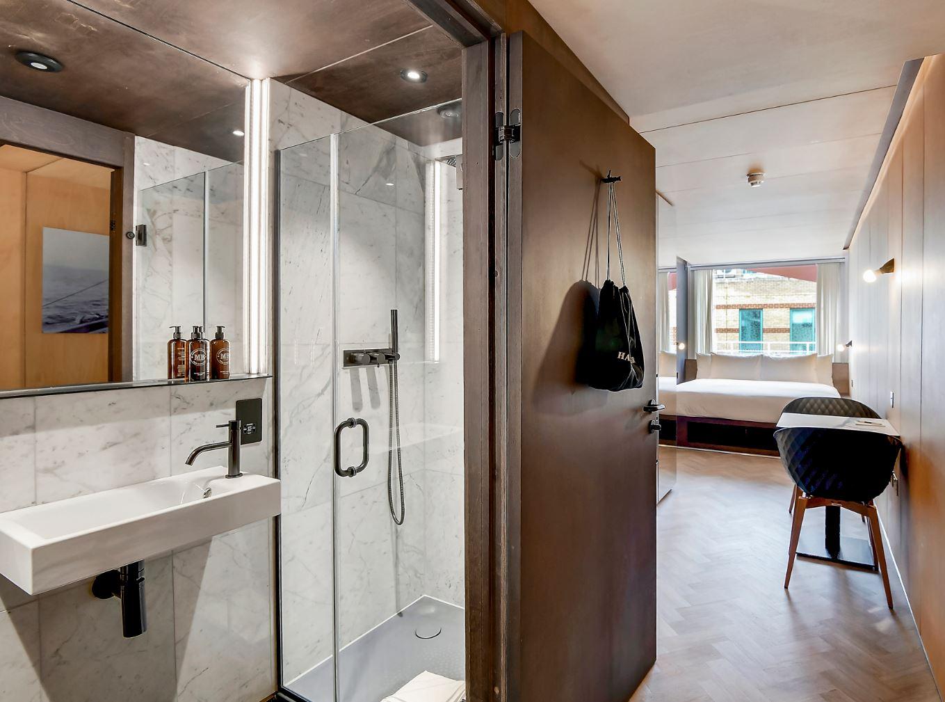 Bathroom at Stow-Away Waterloo Apartments - Citybase Apartments