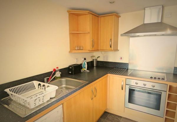 Kitchen at West Point Apartment - Citybase Apartments