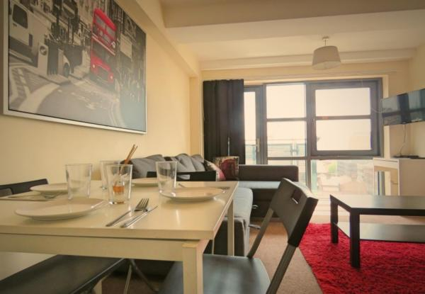 Dining table at West Point Apartment - Citybase Apartments