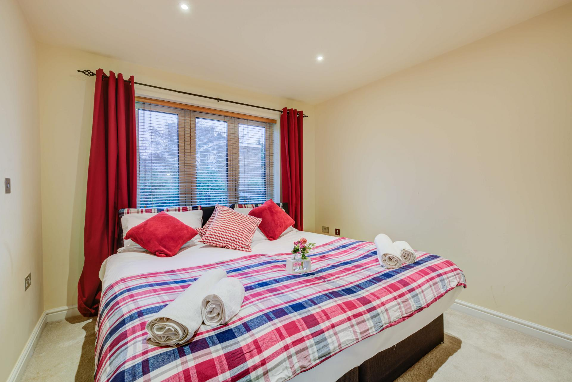 Comfortable bedroom at Mill Cross Apartment - Citybase Apartments