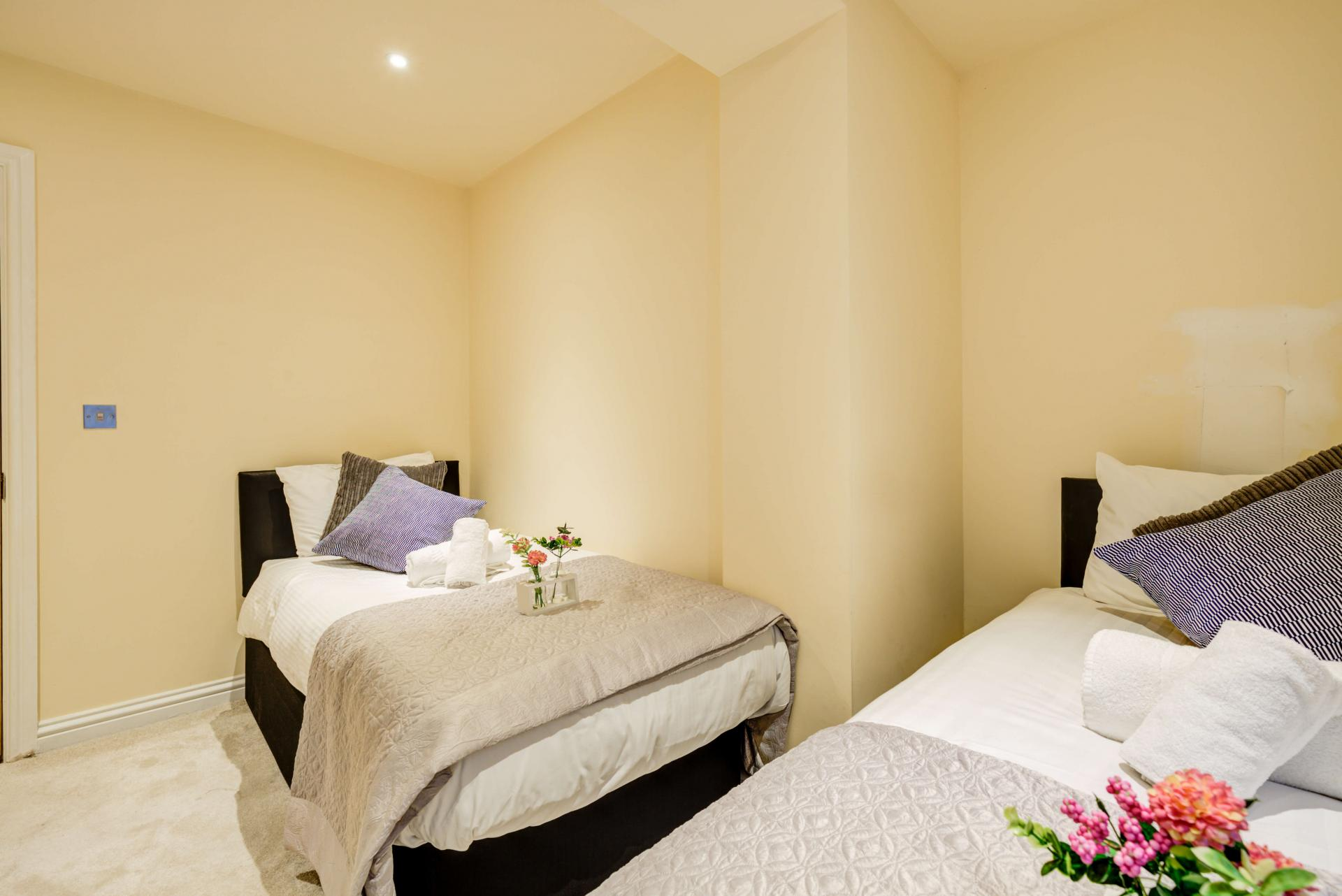 Comfortable beds at Mill Cross Apartment - Citybase Apartments