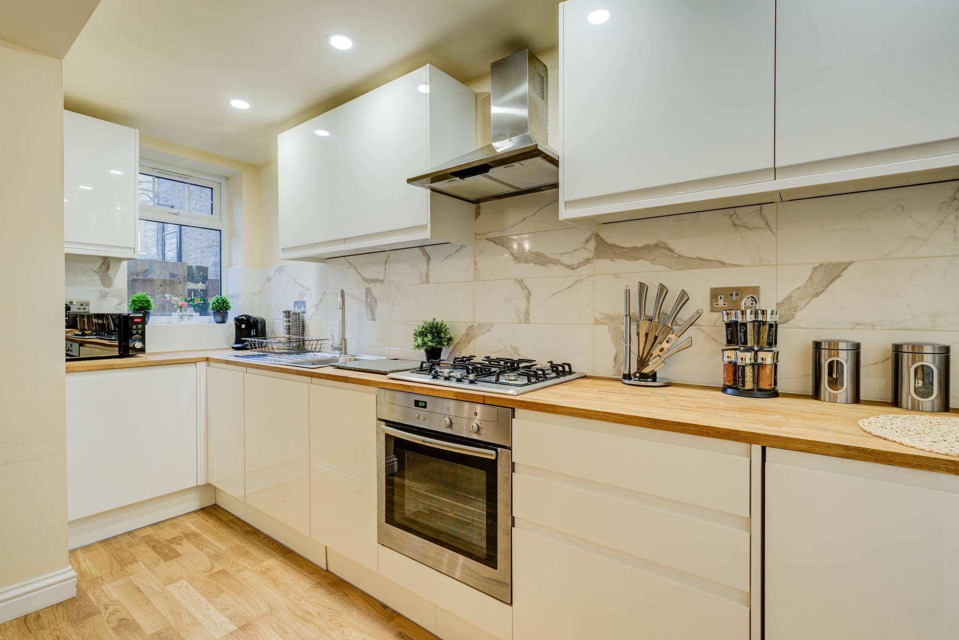 Kitchen at Mill Cross Apartment - Citybase Apartments
