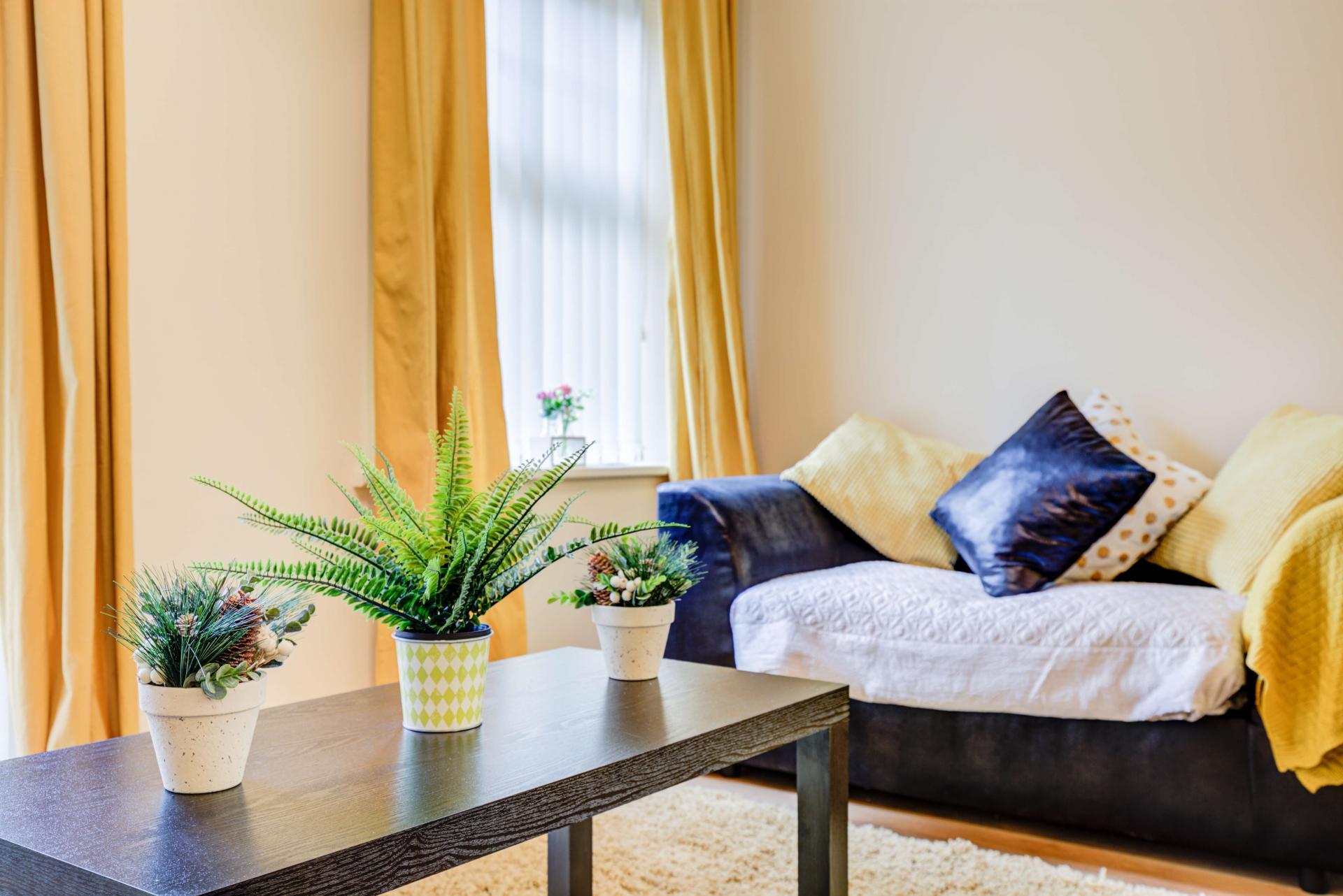 Sofa at Mill Cross Apartment - Citybase Apartments