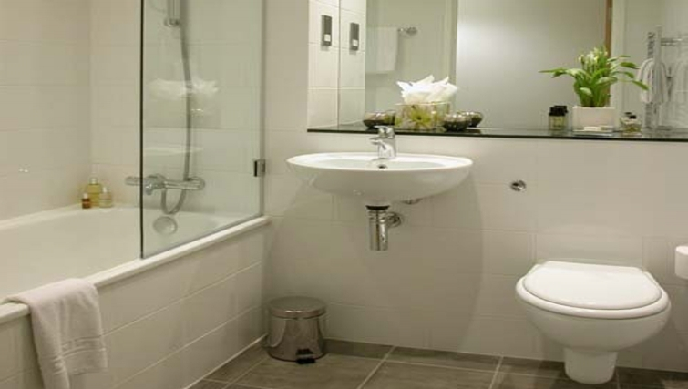 Superb bathroomn at Liverpool One Apartments - Citybase Apartments