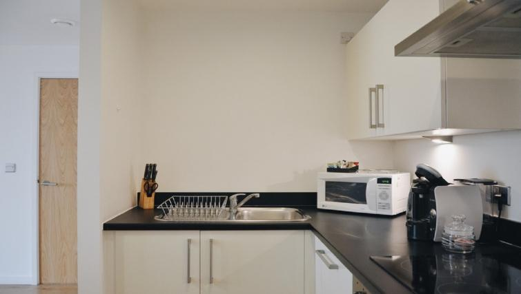 Equipped kitchen at Liverpool One Apartments - Citybase Apartments