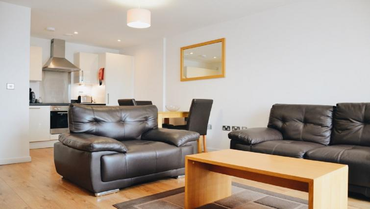 Lounge at Liverpool One Apartments - Citybase Apartments
