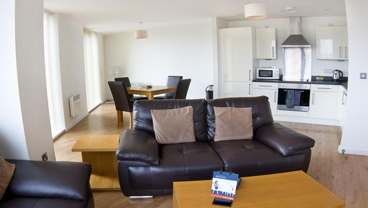 Sofa at Liverpool One Apartments - Citybase Apartments