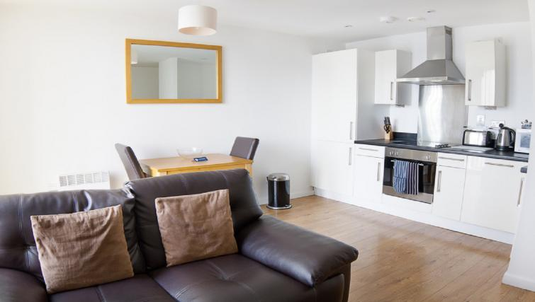 Kitchen/living area at Liverpool One Apartments - Citybase Apartments