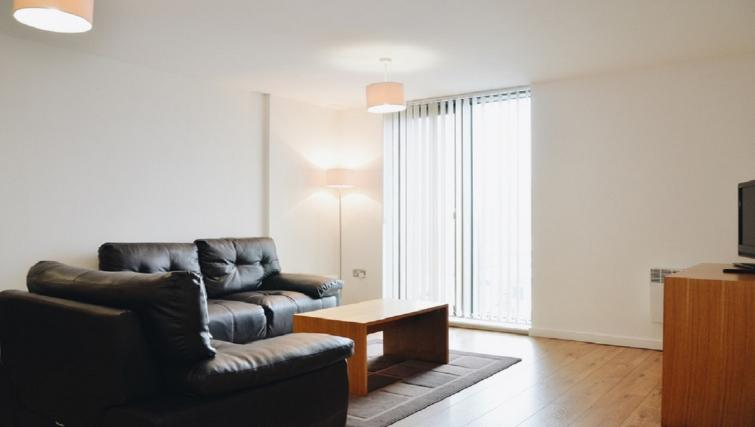 Bright living area at Liverpool One Apartments - Citybase Apartments