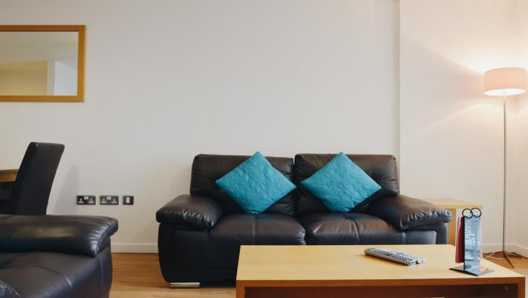 Couch at Liverpool One Apartments - Citybase Apartments