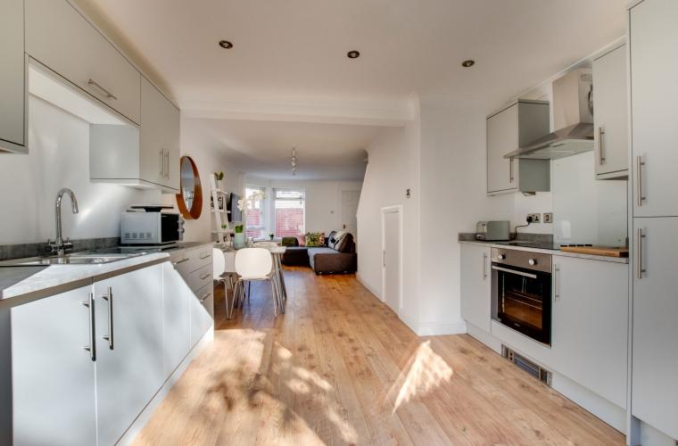 Kitchen at Pontcanna Mews - Citybase Apartments