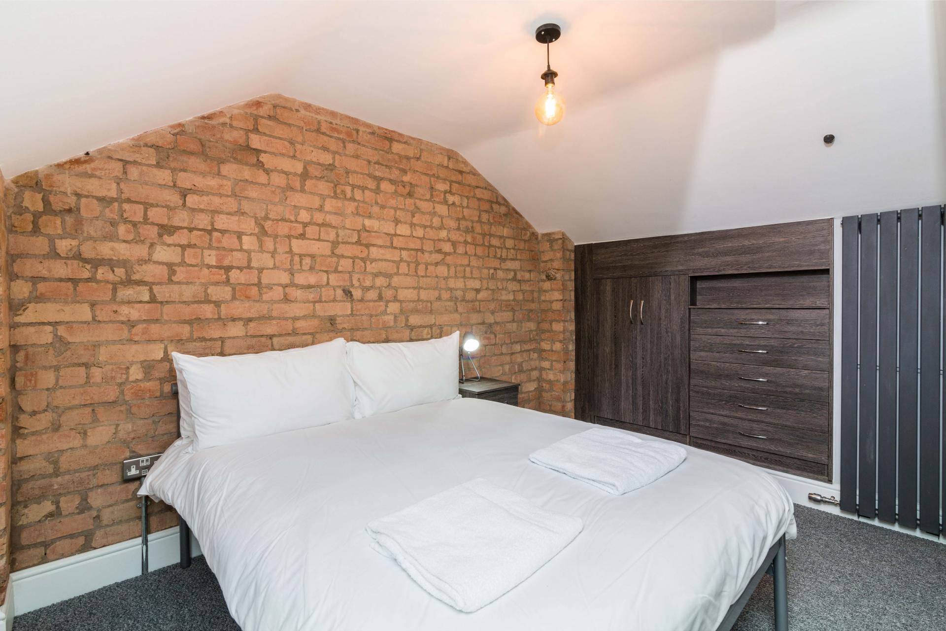 Bed 1 at Salisbury Street House - Citybase Apartments