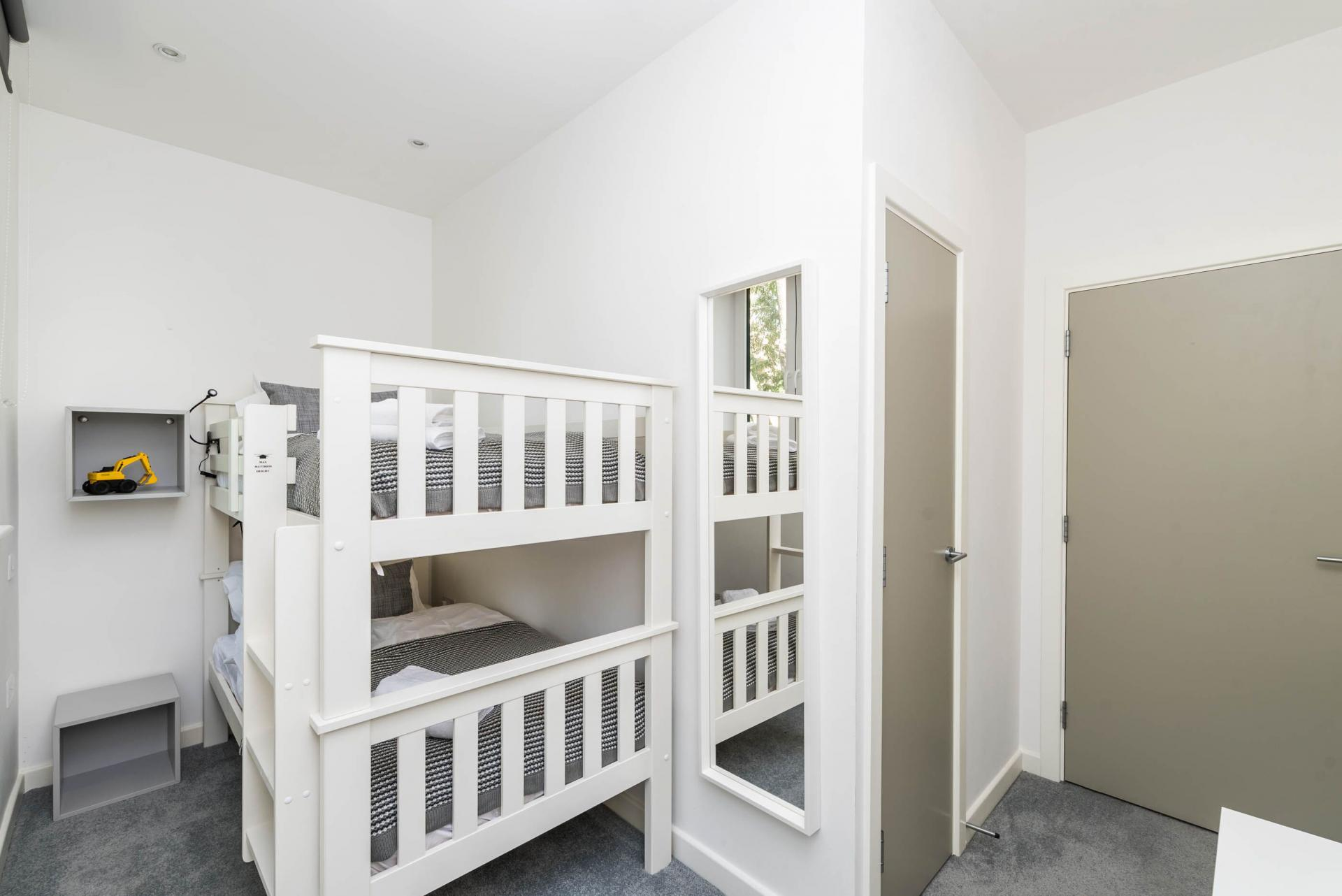 Bunk beds at Vibrant Vauxhall Apartments - Citybase Apartments