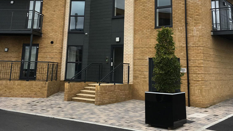 Exterior at Deanery Court Apartments - Citybase Apartments