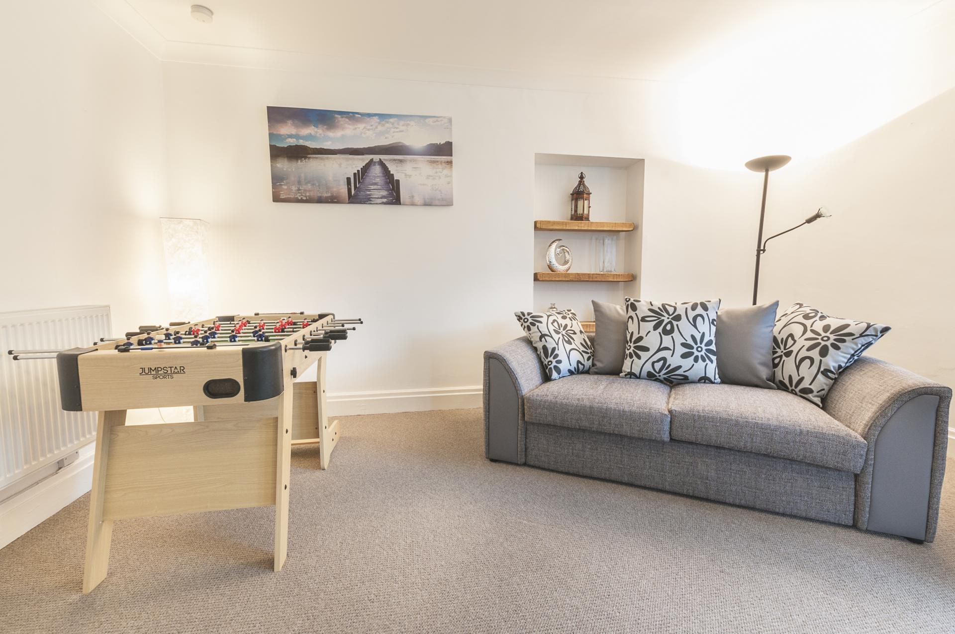 Sofa at Old Lodge - Citybase Apartments